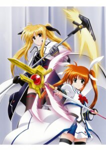 Rating: Safe Score: 8 Tags: fate_testarossa mahou_shoujo_lyrical_nanoha mahou_shoujo_lyrical_nanoha_strikers takamachi_nanoha User: syaoran-kun