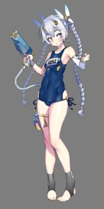 Rating: Questionable Score: 21 Tags: chaika_trabant garter gun hitsugi_no_chaika namaniku_atk swimsuits transparent_png User: kiyoe