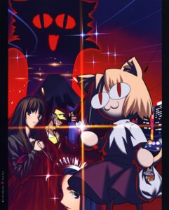 Rating: Safe Score: 7 Tags: melty_blood neko_arc parody takeuchi_takashi tsukihime type-moon User: Komori_kiri