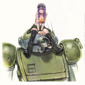 Rating: Safe Score: 43 Tags: cleavage mecha thighhighs votoms yamashita_shunya User: Radioactive