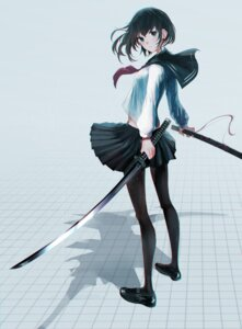 Rating: Safe Score: 35 Tags: pantyhose seifuku swav sword User: nphuongsun93