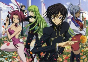 Rating: Safe Score: 24 Tags: animal_ears ass bunny_ears bunny_girl c.c. code_geass ishida_kana kallen_stadtfeld lelouch_lamperouge rollo_lamperouge screening thighhighs viletta_nu User: Aurelia