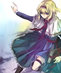 Rating: Safe Score: 5 Tags: alice_margatroid hina touhou User: konstargirl
