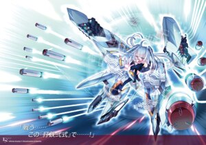 Rating: Safe Score: 8 Tags: choco infinite_stratos megane weapon User: kiyoe
