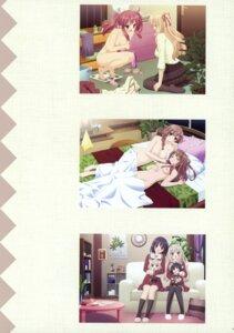 Rating: Questionable Score: 21 Tags: matsubara_yuna naked nipples oda_nanami peco seifuku sheets sono_hanabira_ni_kuchizuke_wo yuri User: fireattack