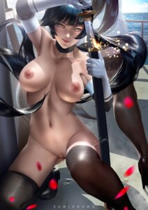 Rating: Explicit Score: 131 Tags: atago_(azur_lane) azur_lane heels naked nipples pussy sword takao_(azur_lane) thighhighs uncensored zumi_(zumidraws) User: BattlequeenYume