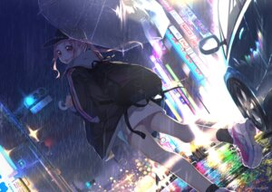 Rating: Safe Score: 29 Tags: ayataka tagme umbrella User: BattlequeenYume