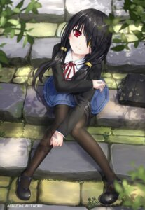 Rating: Safe Score: 109 Tags: date_a_live heterochromia pantyhose seifuku tagme tokisaki_kurumi User: RyuZU