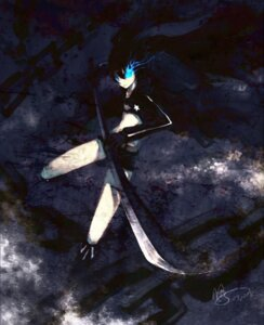 Rating: Safe Score: 12 Tags: black_rock_shooter black_rock_shooter_(character) sword urami vocaloid User: charunetra