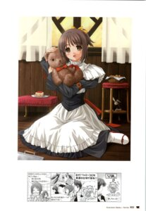 Rating: Safe Score: 11 Tags: maid nekono_osero nekonyan parfait_chocolate_second_brew yukino_asuka User: fireattack