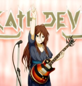 Rating: Safe Score: 11 Tags: guitar karinyuubu_kazu k-on! yamanaka_sawako User: Riven