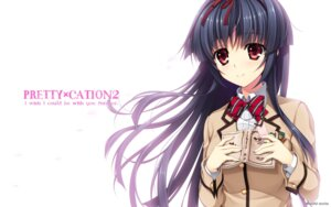 Rating: Safe Score: 46 Tags: asami_asami hibiki_works himekawa_honami pretty_x_cation_2 seifuku wallpaper User: girlcelly