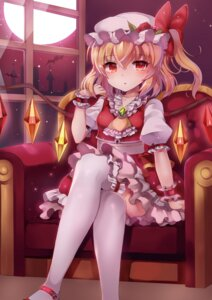 Rating: Safe Score: 60 Tags: flandre_scarlet papo thighhighs touhou wings User: Mr_GT