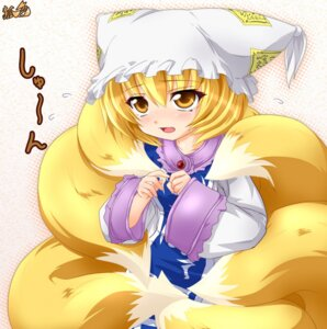 Rating: Safe Score: 8 Tags: kazami_karasu touhou yakumo_ran User: Shamensyth