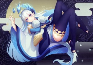 Rating: Safe Score: 41 Tags: horns pointy_ears qiongsheng tail thighhighs User: Mr_GT