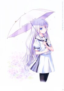 Rating: Safe Score: 19 Tags: key na-ga naruse_shiroha seifuku summer_pockets summer_pockets_reflection_blue User: marechal