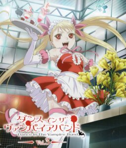 Rating: Safe Score: 23 Tags: dance_in_the_vampire_bund disc_cover konno_naoyuki mina_tepes screening thighhighs waitress User: acas