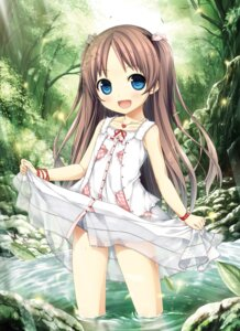 Rating: Questionable Score: 17 Tags: cura dress loli lose monobeno sawai_natsuha see_through skirt_lift wet User: Twinsenzw