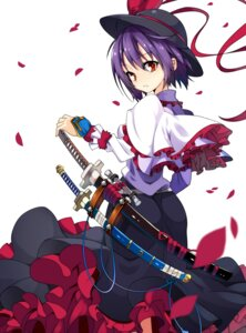 Rating: Safe Score: 42 Tags: kotomuke_fuurin nagae_iku sword touhou User: Radioactive