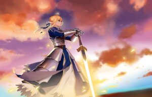 Rating: Safe Score: 49 Tags: armor dress fate/stay_night saber sword zhano_kun User: Mr_GT