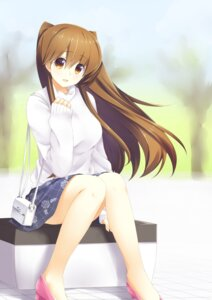 Rating: Safe Score: 51 Tags: heels miyashita_maka ogiso_setsuna sweater white_album white_album_2 User: Mr_GT