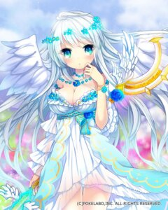 Rating: Safe Score: 62 Tags: cleavage dress juke pantsu see_through weapon wings User: 椎名深夏