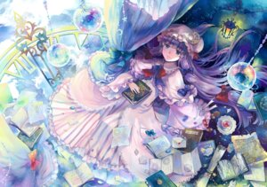 Rating: Safe Score: 27 Tags: dress ekira_nieto ekita_gen patchouli_knowledge touhou User: KazukiNanako