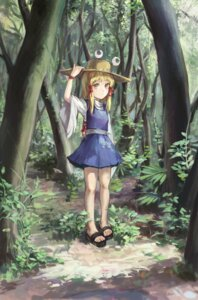 Rating: Safe Score: 11 Tags: jiliang_ji_ying moriya_suwako touhou User: Mr_GT
