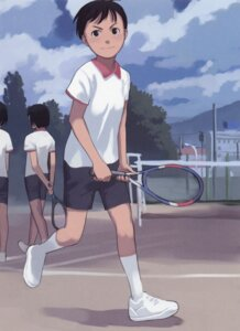 Rating: Safe Score: 5 Tags: gym_uniform takamichi tennis User: Radioactive