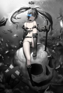 Rating: Questionable Score: 51 Tags: bikini black_rock_shooter black_rock_shooter_(character) cameltoe cleavage hk_(artist) open_shirt swimsuits sword underboob User: Mr_GT
