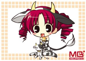 Rating: Safe Score: 5 Tags: animal_ears chibi horns tagme tail watermark User: Radioactive