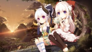 Rating: Safe Score: 36 Tags: horns jakoujika japanese_clothes wallpaper User: Kawaiideath