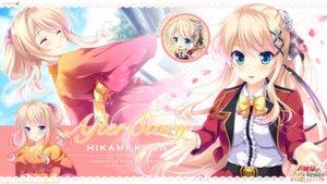 Rating: Safe Score: 16 Tags: chibi ensemble_(company) hikami_kuon hizuki_yayoi kimono naruse_hirofumi ojou-sama_wa_sunao_ni_narenai ojou-sama_wa_sunao_ni_narenai_~daisuki_wo_kimi_dake_ni~ seifuku wallpaper User: moonian