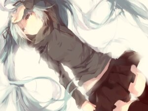 Rating: Safe Score: 48 Tags: hatsune_miku rolling_girl_(vocaloid) shuzi thighhighs vocaloid User: Alfakroll