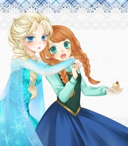 Rating: Safe Score: 18 Tags: anna_(frozen) atobesakunolove dress elsa_(frozen) frozen User: Radioactive