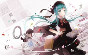 Rating: Safe Score: 48 Tags: hatsune_miku kuroi_asahi pantyhose vocaloid User: Mr_GT