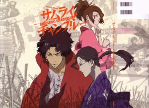 Rating: Safe Score: 10 Tags: fuu jin mugen samurai_champloo User: minakomel