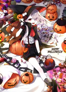 Rating: Safe Score: 33 Tags: halloween ima-no-tsurugi kapiora neko touken_ranbu witch User: Mr_GT