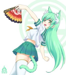 Rating: Explicit Score: 18 Tags: a-plug animal_ears ass fate/grand_order horns kiyohime_(fate/grand_order) nekomimi nopan pussy_juice seifuku tail thighhighs User: BattlequeenYume