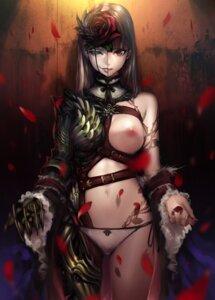 Rating: Questionable Score: 84 Tags: breasts heterochromia nipples pantsu sasaoka_gungu string_panties User: Radioactive
