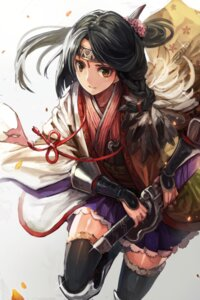 Rating: Safe Score: 31 Tags: matsumoto_mitsuaki sword toukiden User: fireattack