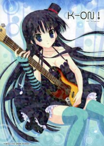 Rating: Safe Score: 21 Tags: akiyama_mio cleavage dress guitar indico_lite k-on! mitha thighhighs User: WtfCakes