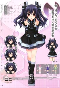 Rating: Safe Score: 51 Tags: choujigen_game_neptune choujigen_game_neptune_mk2 expression profile_page tsunako uni_(choujigen_game_neptune) User: donicila