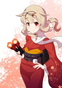 Rating: Safe Score: 15 Tags: chausagi kantai_collection kimono yuudachi_(kancolle) User: Mr_GT