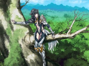 Rating: Safe Score: 16 Tags: armor cleavage elf landscape pointy_ears xi_meng User: Radioactive
