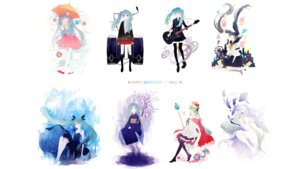 Rating: Safe Score: 17 Tags: bandaid dress guitar hatsune_miku ky692 last_night_good_night_(vocaloid) melt_(vocaloid) rolling_girl_(vocaloid) seifuku shinkai_shoujo_(vocaloid) thighhighs vocaloid wallpaper world_is_mine_(vocaloid) yukata User: animeprincess