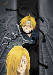 Rating: Safe Score: 3 Tags: alphonse_elric amen edward_elric fullmetal_alchemist male User: yages
