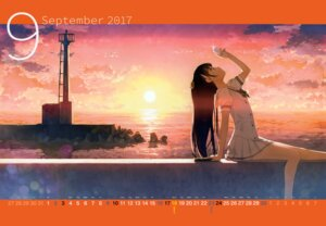Rating: Safe Score: 89 Tags: calendar kantoku landscape nagisa_(kantoku) seifuku User: Hatsukoi