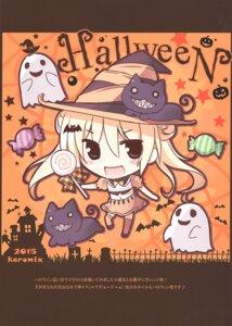 Rating: Questionable Score: 9 Tags: chibi halloween karomix karory neko witch User: Radioactive