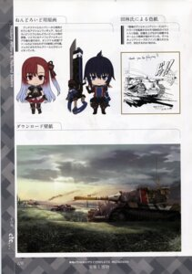 Rating: Safe Score: 4 Tags: bleed_through chibi scanning_dust senjou_no_valkyria_3 tagme thighhighs uniform weapon User: Radioactive